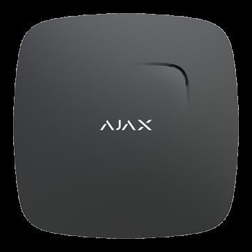 Détecteur de fumée AJAX noir