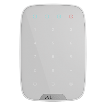 clavier indépendant pour alarmes AJAX blanc