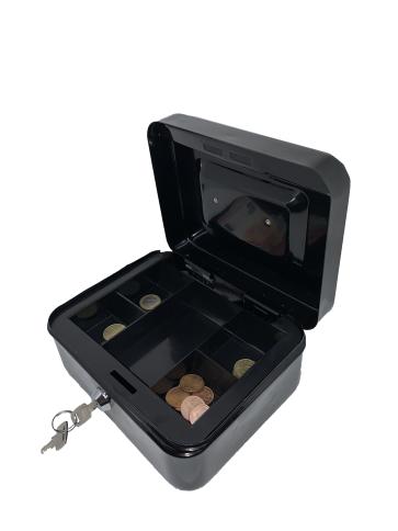 Caisse à Monnaie avec 5 compartiments 25cm