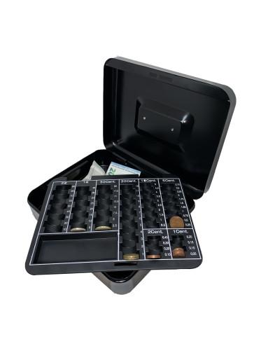 Caisse à Monnaie avec 5 compartiments pour EUROS 25cm