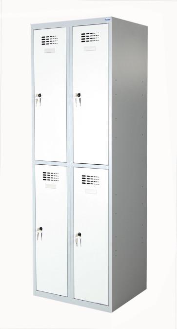 Casiers Vestiaires SUS322W 4 compartiments