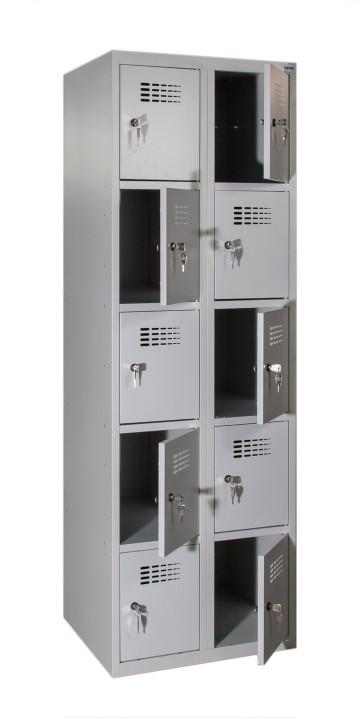 Casiers vestiaires SUS325W 10 compartiments