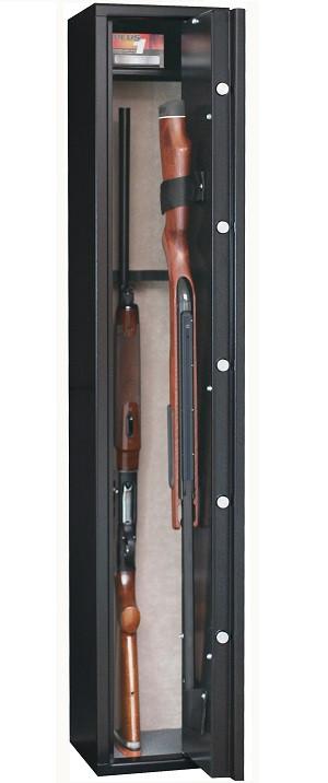 Armoire à fusil INFAC SENTINEL 5 armes et 1 étagère
