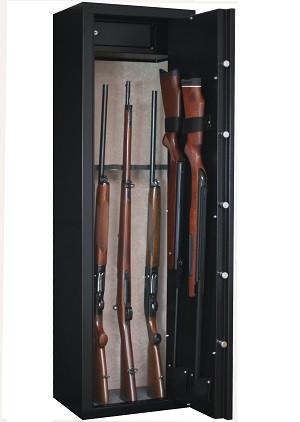 Armoire à fusil INFAC SENTINEL 8 armes + coffre intérieur
