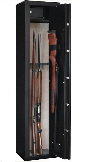 Armoire à fusil INFAC SENTINEL 6 armes avec lunette + coffre intérieur