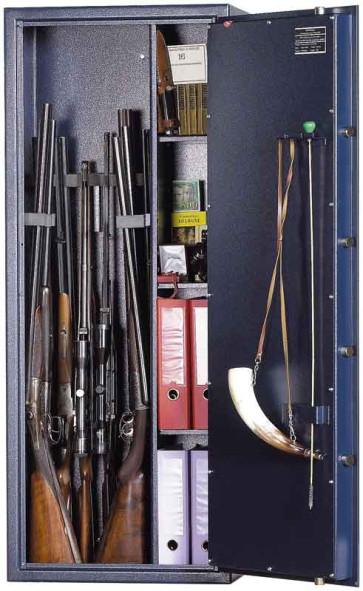 Armoire pour armes WT312 avec serrure à clés A2P
