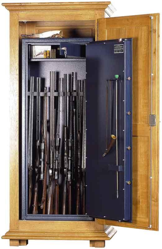 armoire forte pour 10 armes wt0310 serrure cl s. Black Bedroom Furniture Sets. Home Design Ideas