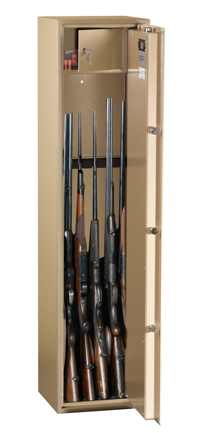 coffre fort pour 6 armes wt2006b1 essential serrure cles. Black Bedroom Furniture Sets. Home Design Ideas