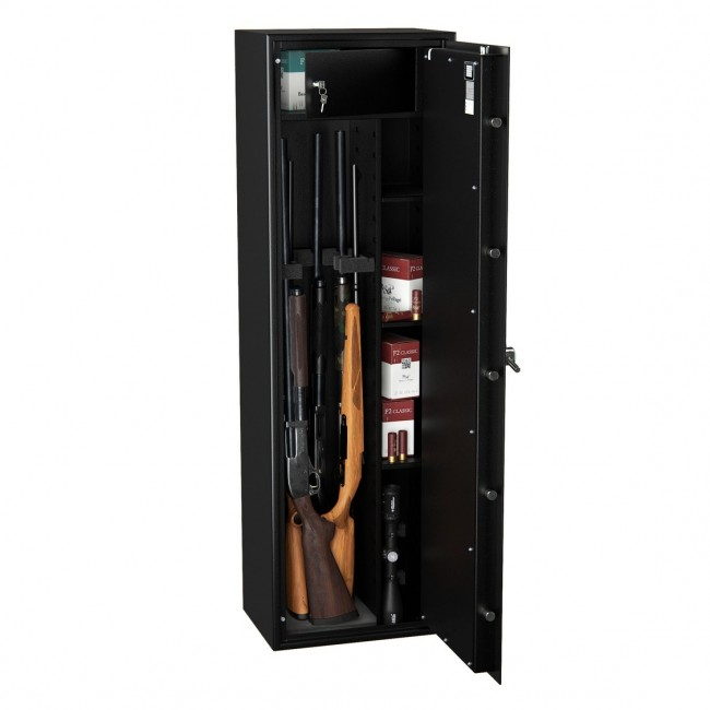 Armoire Forte Pour 6 Armes Wt5006n1 Blackline Serrure A Cles