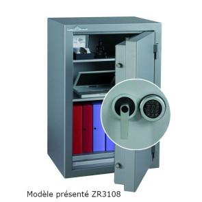 Coffre fort Ignifgue 30 minutes Papier ZR3064G4 Serrure Electronique