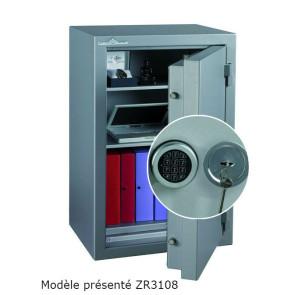 Coffre fort Ignifgue 30 minutes Papier ZR3064G6 Serrure à clés + Electronique