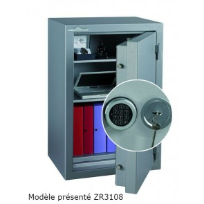 Coffre fort Ignifgue 30 minutes Papier ZR3283G6 Serrure à clés + Electronique