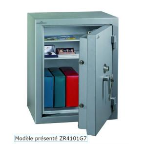 Coffre fort Ignifgue 30 minutes Papier ZR4116G7 Serrure à clés + disques