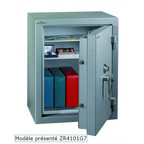 Coffre fort Ignifgue 30 minutes Papier ZR4577G7 Serrure à clés + disques