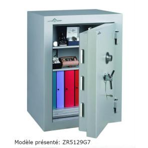 Coffre fort Ignifgue 30 minutes Papier ZR5114G7 Serrure à clés + disques