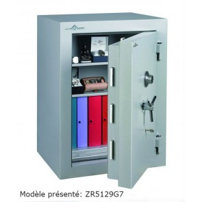 Coffre fort Ignifgue 30 minutes Papier ZR5159G7 Serrure à clés + disques