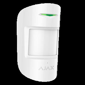 Detecteur mouvement et bris de vitre AJAX blanc