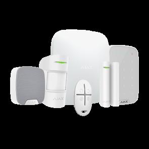 kit alarme AJAX + clavier + télécommande + contact porte/fenetre + sirène intérieure + détecteur IR