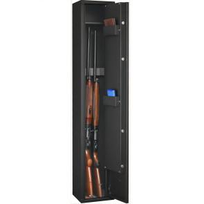 Armoire à fusil DELTA 4 armes et 1 étagère FORTIFY