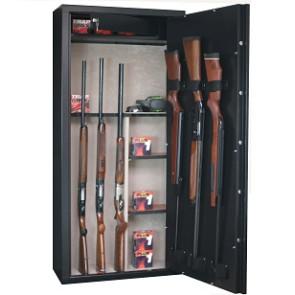 Armoire à fusil INFAC SENTINEL 11 armes avec lunette + coffre intérieur