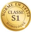 NORME EN 14450 CLASSE S1