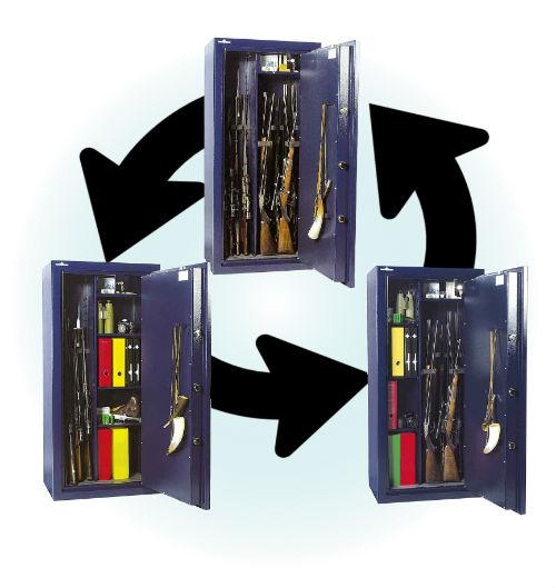 armoire armes WT830 modulable
